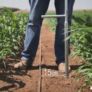סרט הדרכה לתחום החקלאות - סרט שמסביר שלב אחר שלב את בדיקת לחות הקרקע - breeze animation